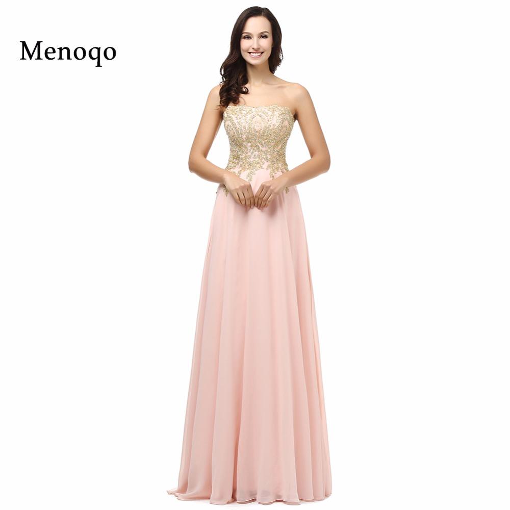 Online Get Cheap Largo De La Gasa Vestido De Fiesta Sin Tirantes ...