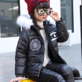 Next Brand 2016 Winter Girls Clothing Sets Cartoon Animal Graffiti Baby Girl Clothes Set Casual Thick Snowsuit Kids Warm Suits