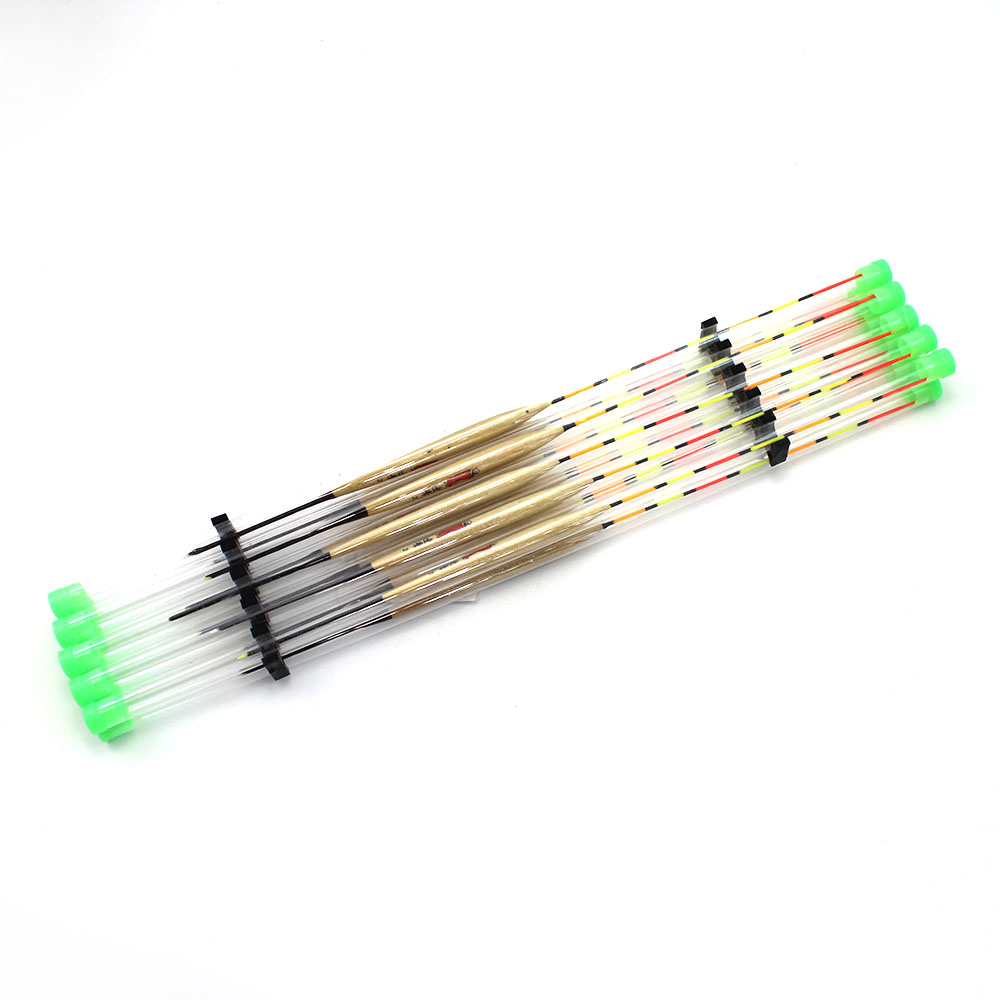10Pcs/Lot Fishing Floats Paulownia Wood Fishing Tackle Tool Fish Wooden Floats Suit For Different Fishing Float