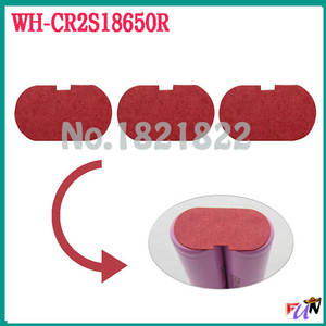 10pcs/alot 18650  insulating cover  battery protection cover  red cover