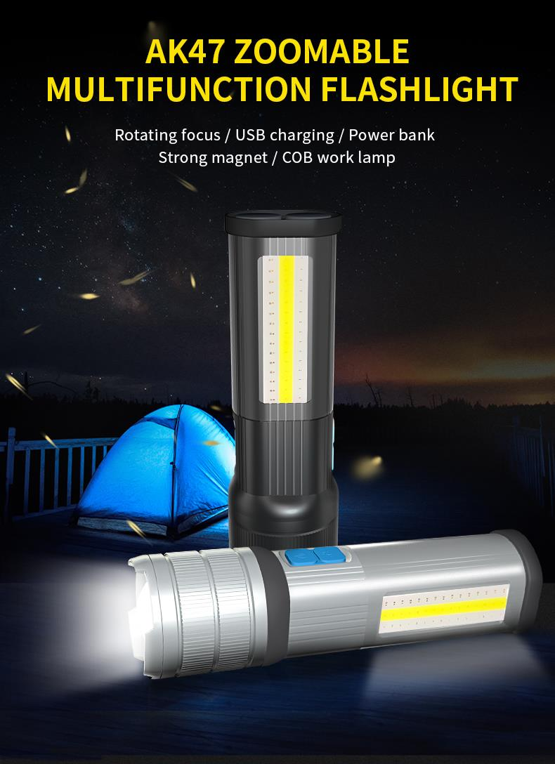Camping power Torch LED 3
