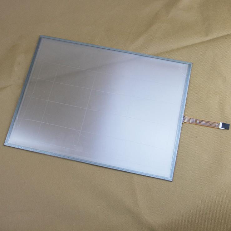 15 inch 322*247mm 4wire Resistive Industry Touch Sreen Panel Digitizer for 4:3 LCD Control in Business Machines