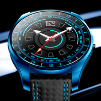 Pedometer Multi function Mens Smart Sport Watch Men Bluetooth Touch Screen TF Card Fitness Camera Smart Watches For IOS Android