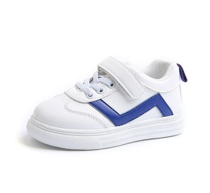 2018 Spring Autumn Children PU Casual Shoes Boys Girls Anti-Slippery Sport Shoes Kids Student School Skate Shoes#14