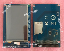 maithoga 3.2 inch 40P TFT LCD Color Screen Module with Touch Panel HX8352A Drive IC 240*400 SD Card 3.3V Pin Header