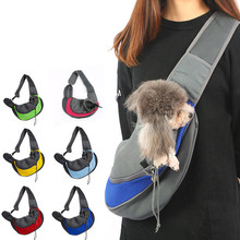Yooap Portable pet cat puppy carrying backpack outdoor travel shoulder bag breathable mesh strap