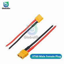 10cm XT60 XT-60 Plug with Wire Battery Male Female Connector Plug Silicone Wire for Battery цена