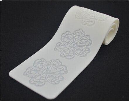 CT5011 Silikonový dort forma květinové cukrové krajky plísní dekorace pro svatební dort