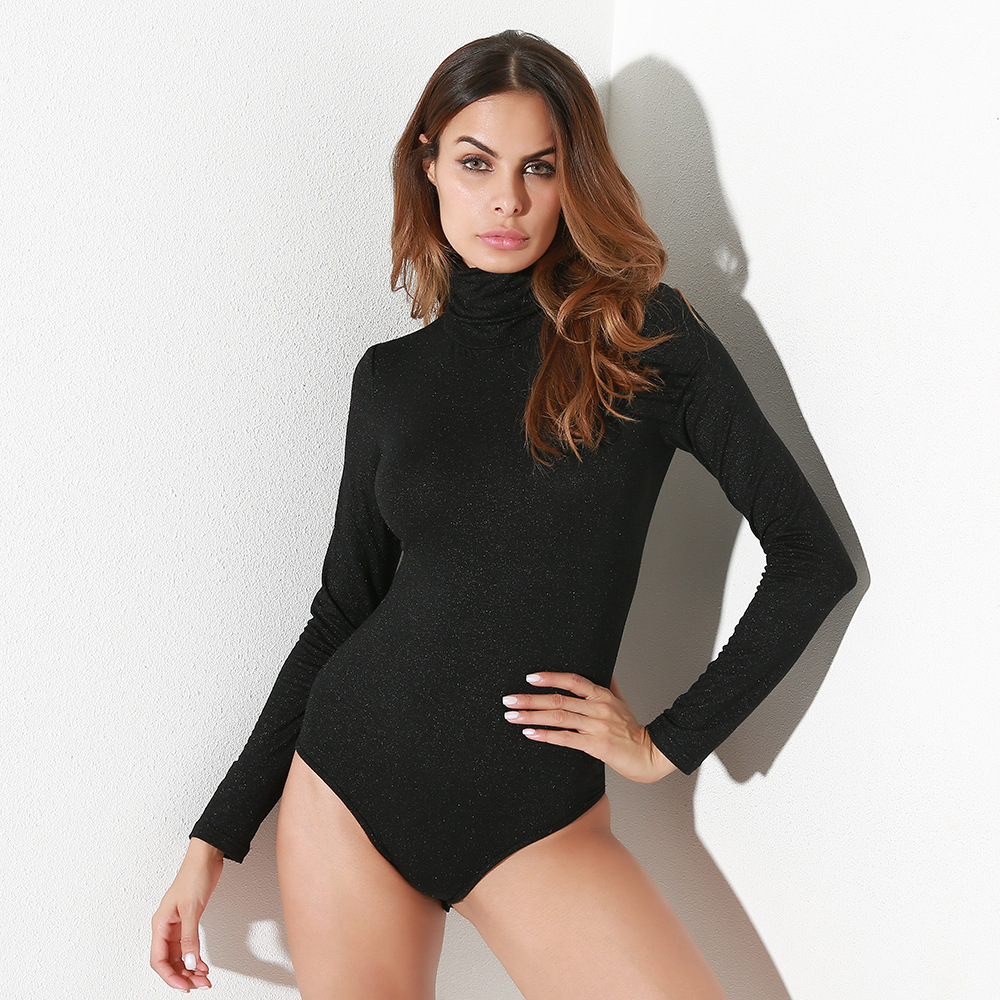 Black Long Sleeve Casual 2018 Zaful Jumpsuit Bodysuit Bodies Ladies Summer Female Playsuit Catsuit Women Body Overalls Jumsuit