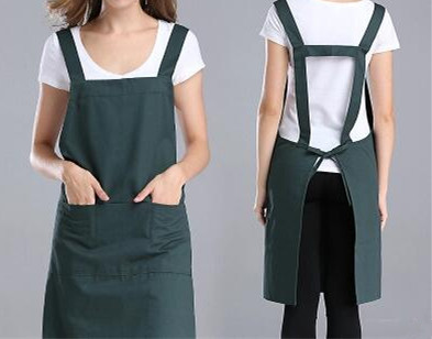 fashion clothing cotton apron manicure kitchen apron - Kitchen Apron