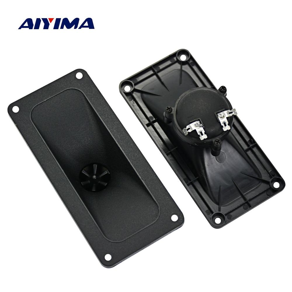 AIYIMA 2pcs Tweeters Speaker 146*67MM Piezoelectric Tweeter Loudspeaker  150W Ceramic Buzzer Treble Square DIY Audio Speakers