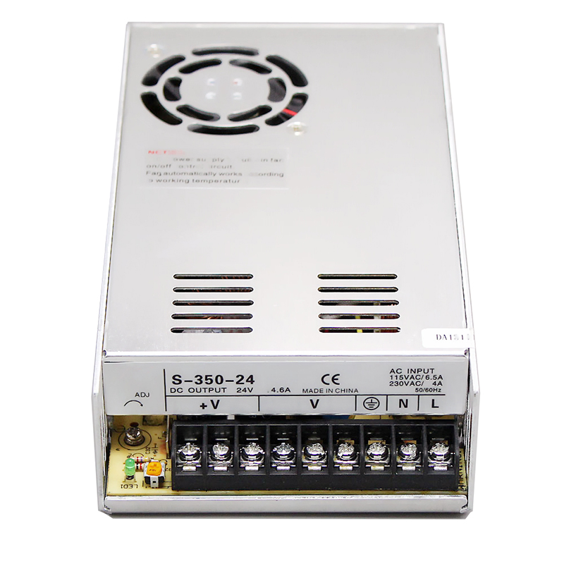 S-350 350W single group open frame ac to dc switching power supply 5V 12V 24V 27V 36V 48V meanwell 12v 350w ul certificated nes series switching power supply 85 264v ac to 12v dc