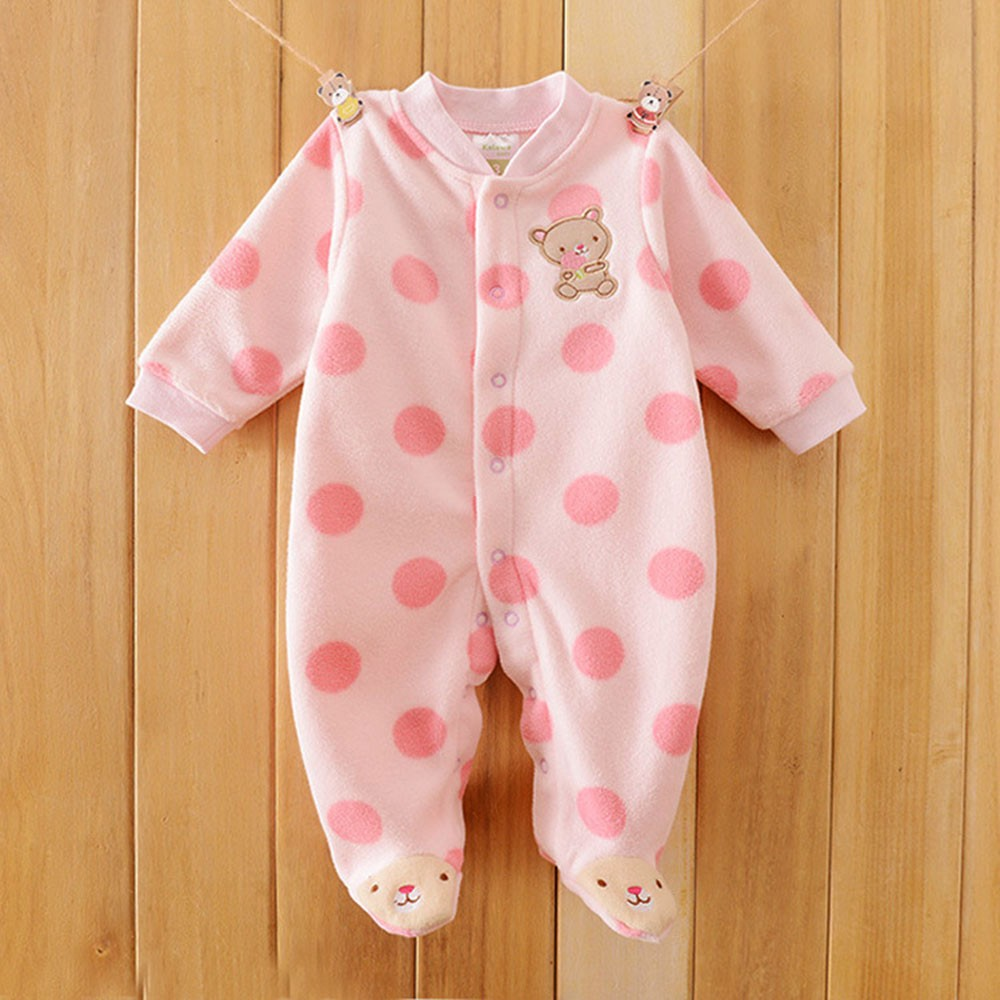 2016-Autumn-Spring-Wave-Point-Baby-Fleece-Pajamas-Rompers-One-Pieces-Long-Sleeve-Jumpsuit-Cute-Animal-Baby-Sleep&Play-Clothes-CL0886 (11)