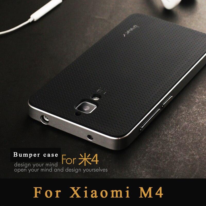 best website 394aa 9b353 US $4.99 25% OFF|Xiaomi Mi4 case Original ipaky Brand xiaomi mi4 pro case  Armor silicone Back Cover + PC Frame for Xiaomi 4 mi 4 m4 Phone cases-in ...