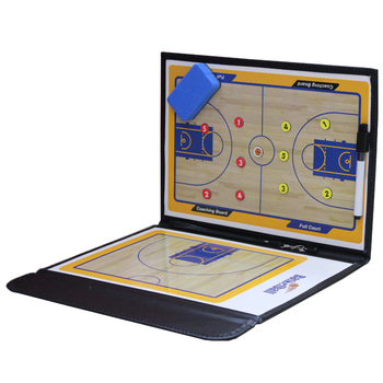 Foldable Coach Basketball Board Tactic Coaching Basketball Tactical Board Portable Competition Game Training Magnet Clipboard foldable magnetic tactic board soccer coaching coach tactical board football game portable football training tactics clipboard