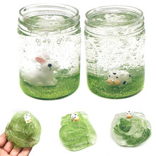 1 Pcs Mud Slime Clay Plasticine Toy Transparent Stress Relief Gift For Children Kids YJS Dropship