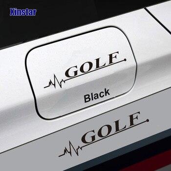 KK samochodu korek oleju naklejki dla volkswagen golf 7 B5 B6 B7 Golf MK4 MK6 MK7 golf6 golf6r