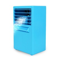 Hot Selling Practical Design Compact Size Personal Use Air Conditioner Air Cooler Home Office Desk Cooler Cooling Bladeless Fans