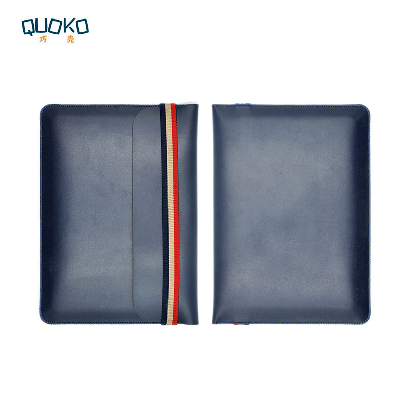 Laptop Bag Case Microfiber Leather Sleeve For Lenovo Thinkpad X250 X260 X270 X280 12.5 Inch Coloured Elastic Band Style