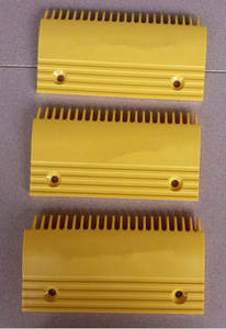 Comb-Plate 199--109--145 Escalator QSTJ.S.A.3 Plastic Yellow 22-Teeth