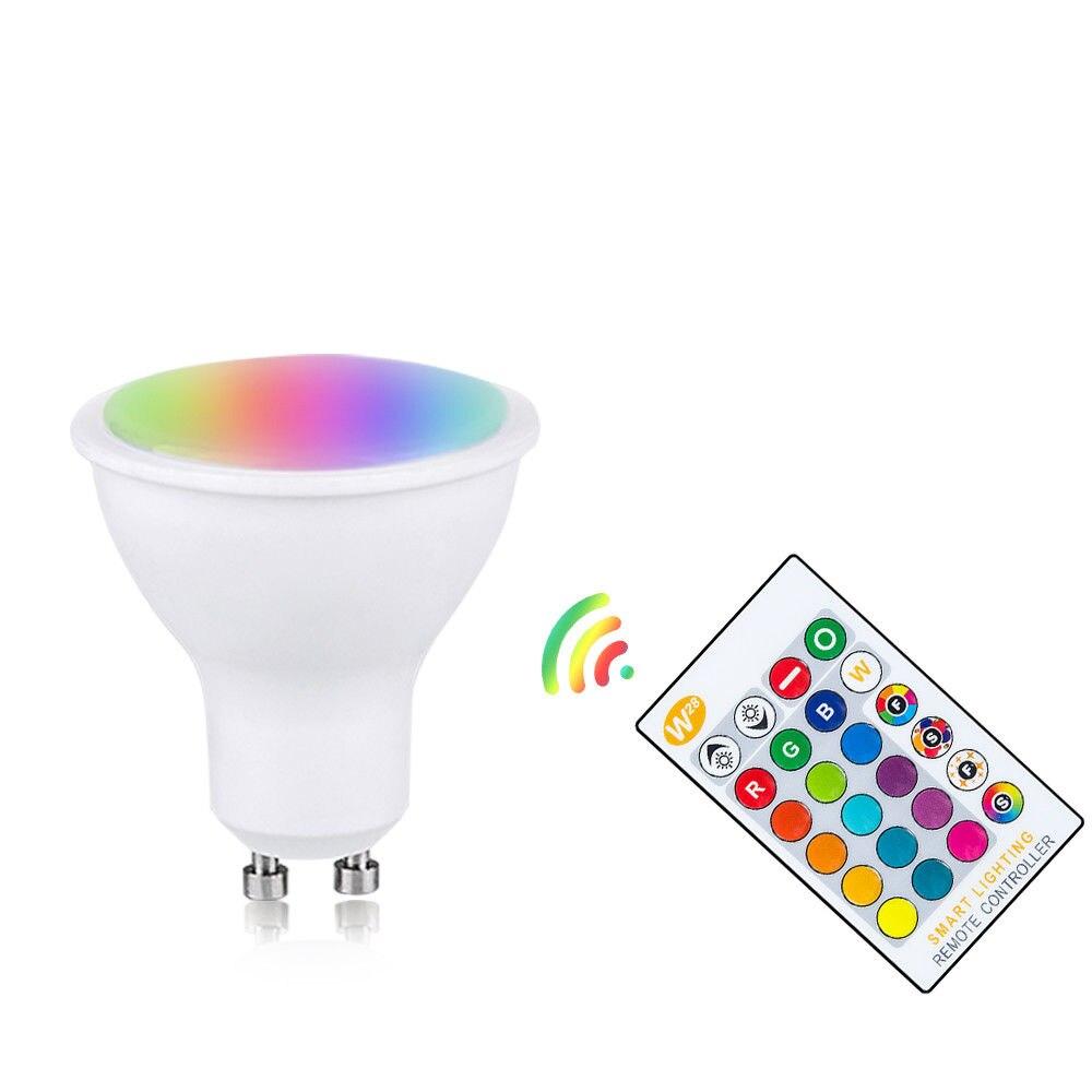 RGBW/WW LED ampoule Bar atmosphère lampe chambre parti GU10 décoration de la maison Durable télécommande pour l'électronique de conception intérieure