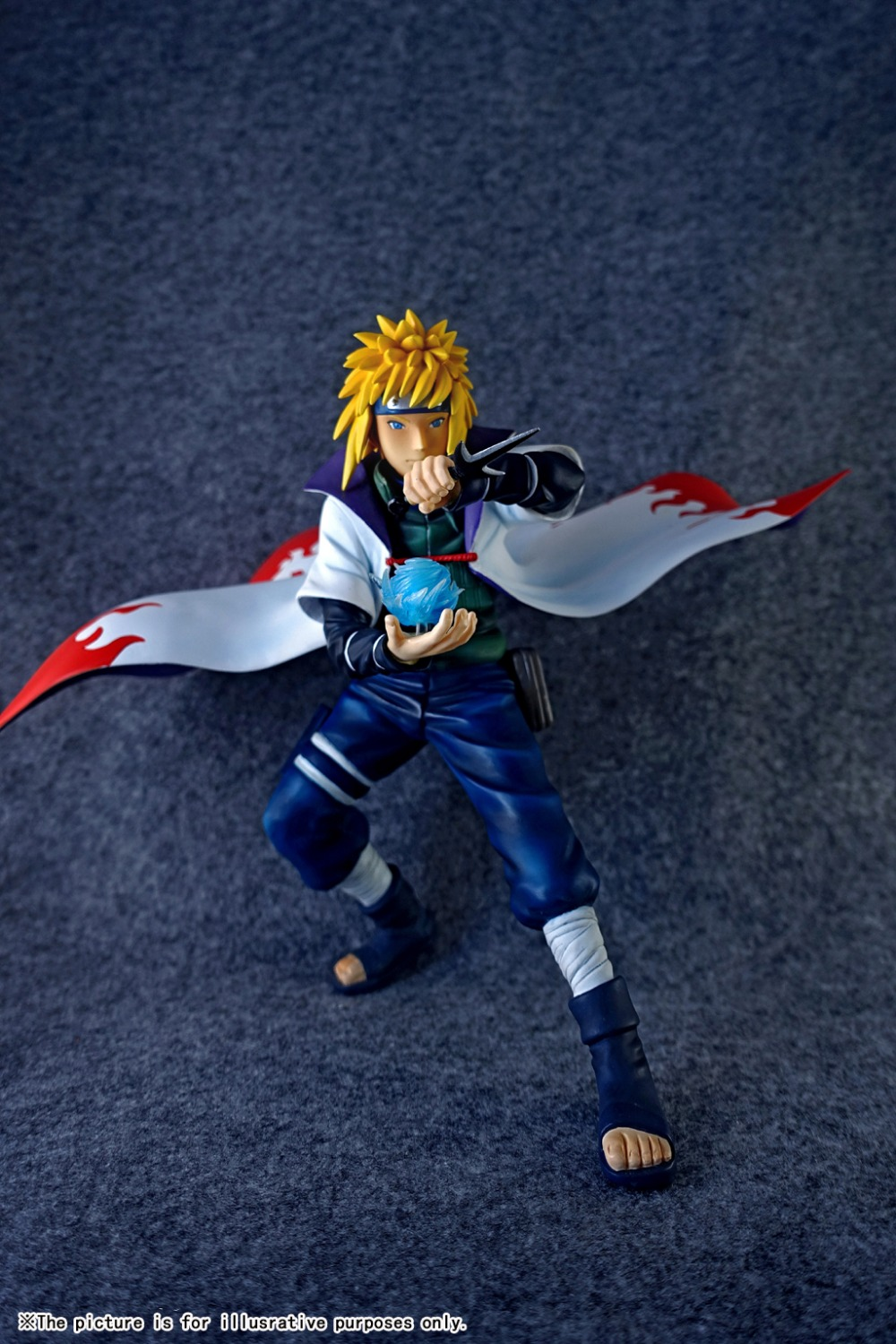 MODEL FANS IN-STOCK ex toy 22cm NARUTO Namikaze Minato GK resin made for Collection Handicrafts new in stock vi j62 ex