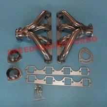 Большой блок BBC выпускной коллектор FIT CADILLAC V8 472/500 из нержавеющей стали выхлопные гоночники+ Болты