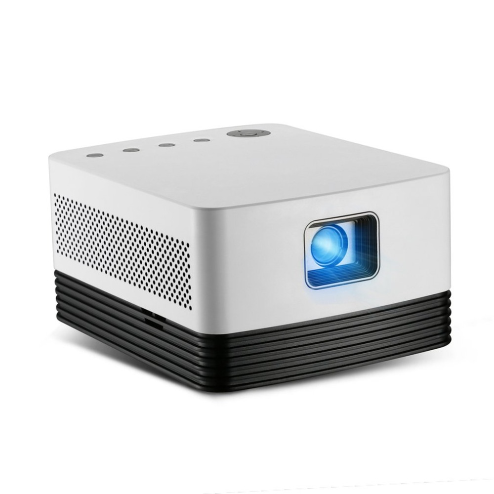 J20 Dlp Led Projector Voor Android 6.0 Ondersteuning 4 K 1080 P Video Decoderen Wifi Bluetooth Home Theater Proyector In Pain