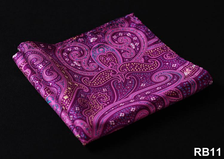 RB11 HN04P Purple Pink Paisley 32cm