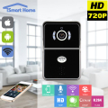 WIFI Video Wireless IP Doorphone Door Viewer Door Phone Bell Doorbell Home Video Intercom Camera Peephole Remote Mobile Unlock