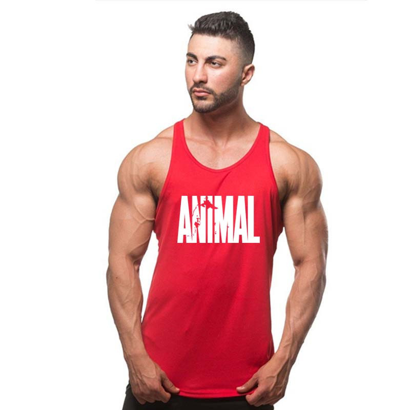 2019 NEW MEN Golds   Tank     Top   Men Sleeveless Shirt Bodybuilding Stringer Fitness Men's Cotton Singlets Muscle Clothes Workout Vest