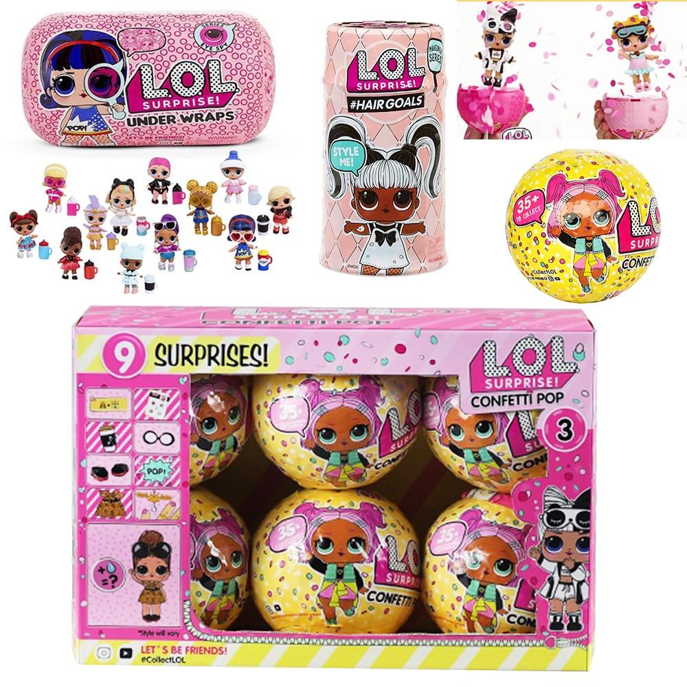 Surprise LOL Dolls Confetti Egg 17