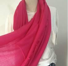 100%Cashmere Scarf women white rose pink orange soft warm natural fabric thin NEW Spring Autumn winter 6-20days Free Shipping