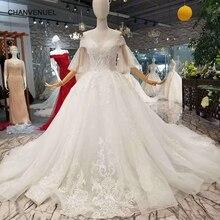 CHANVENUEL LSS066 specai wedding dress train gown