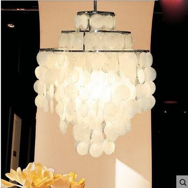 Modern simple wind chimes shells creative personality chandeliers for stairs living room dining room lights bedroom study bar oygroup chandeliers creative personality dining room simple modern coffee lights living room decoration design lamps oy16p08s