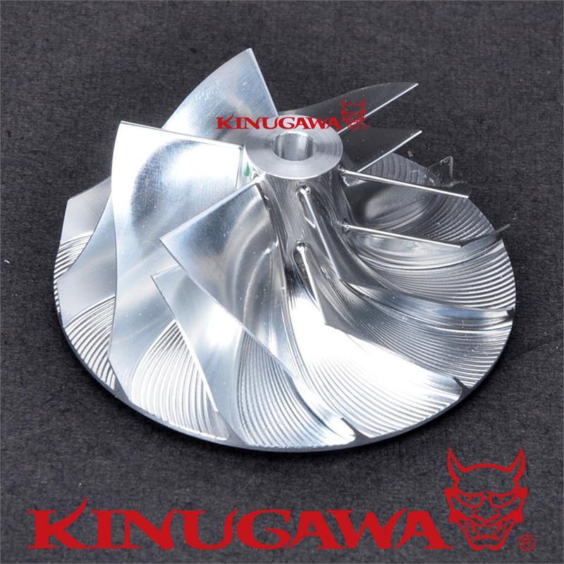 Kinugawa Boleto Turbo Compressor Roda 51.65/69.96mm 6 + 6 Aparar 55 para T04B Garrett 409179-0023