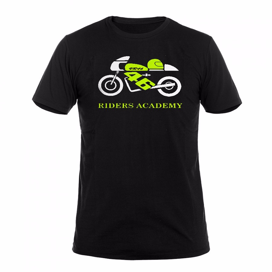2017new hot style mens fashion motorcycle racing leisure t shirt 100% cotton MOTO GP VR46 sport t shirt