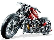Decool Technic City Series Motorbike Harley Vehicle Model Building Blocks Enlighten Figure Toys For Children Compatible Legoe