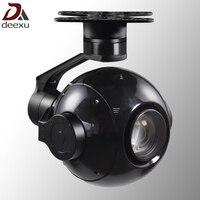 БПЛА drone патруль ptz 30x зум HD starlight Аэрофотосъемка камера с 3 оси gimbal стабилизатор