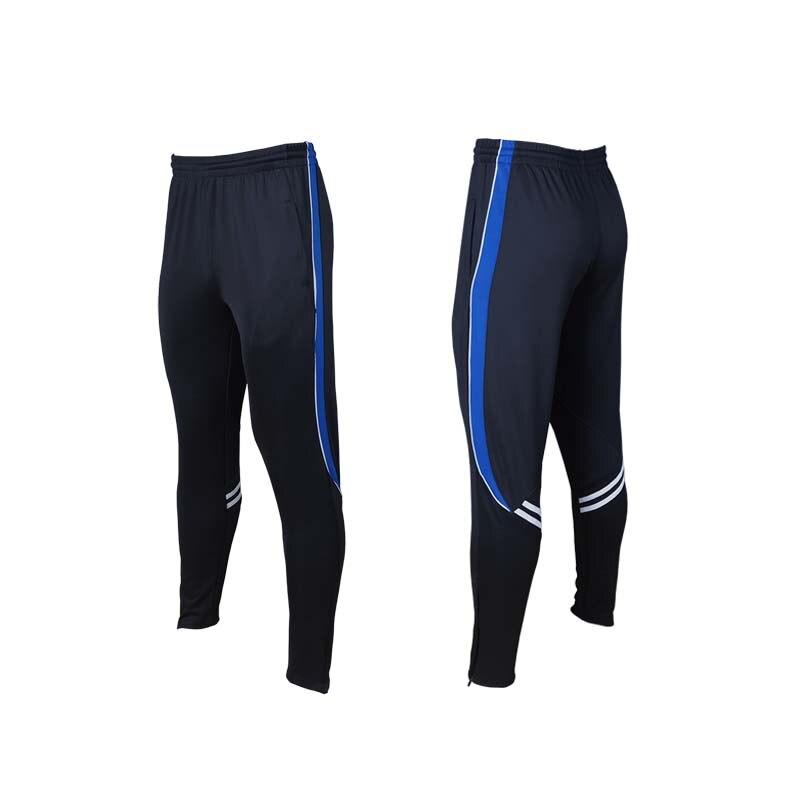 1d2f45d07da56 Aliexpress.com  Comprar Pantalones de entrenamiento de fútbol Shinestone  para hombre con bolsillo con cremallera pantalones de fútbol para correr ...