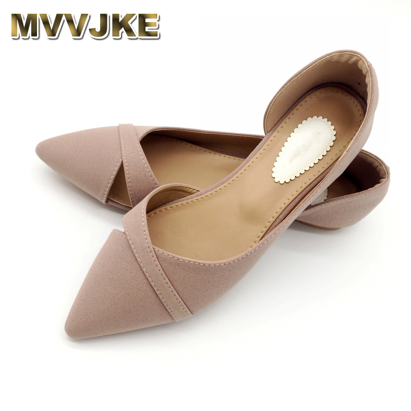 MVVJKE2019 Summer Fashion Shoes Woman Ballet Flats Women Soft Slip On Single Shoes Ladies Shoes Footwear Zapatos De Mujer