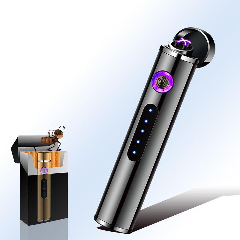 Double Arc de briquet d'usb de Plasma pour le cadeau Rechargeable électronique de tabagisme de Cigarette pour des amis