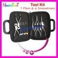 Profesional de Gafas 7 Alicate 6 Destornillador Kit de Reparación de Herramientas Set PL101 Envío Gratis