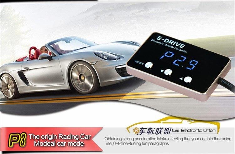 Digital de pantalla LED Controlador Electrónico de Aceleración Del Coche para la