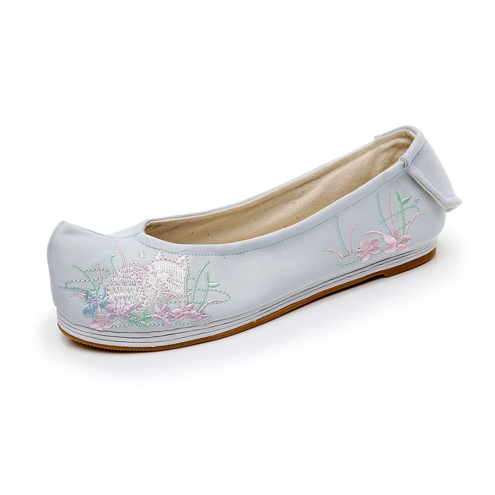 Spring Flats Ladies Footwear Chinese language Elegant Embroidered Warped-head Footwear Ballet Flats Cotton Material Breathable Melaleuca Qian Xun Aliexpress, Aliexpress.com, On-line purchasing, Automotive, Telephones & Equipment, Computer systems &...