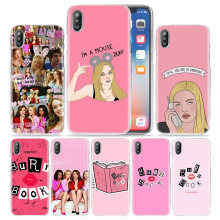 Chicas libro caso para iPhone XS Max XR X 10 7 S 7 S 8 S 8 6 S 6 Plus 5S iPhone 5 4S 4 5C 6 + 6 S + 7 + 8 + Hard PC TV mostrar teléfono cubierta(China)