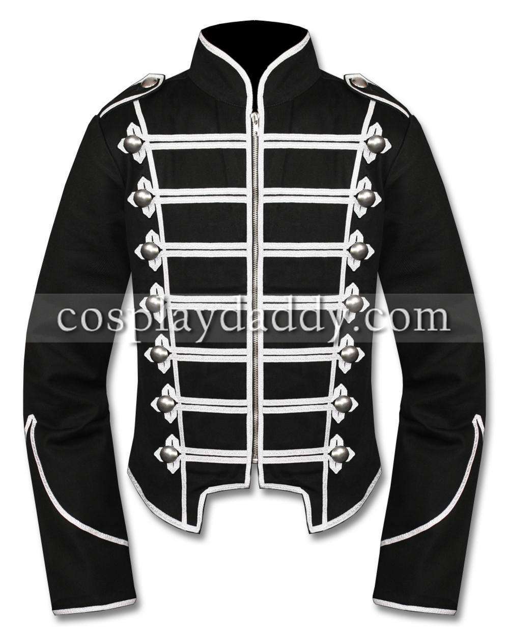 My Chemical Romance Emo Parade Military Jacket Top Cosplay Costume