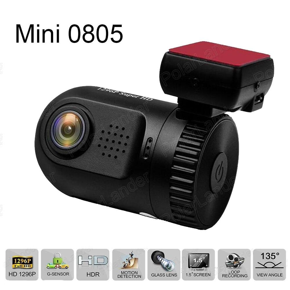 A7LA50D Mini 0805 Car DVR Recorder 1.5 TFT Screen GPS HD 1296P Dashcam Loop recording WDR G-sensor Auto Camcorder автомобильный видеорегистратор anytek at66a 2 7 hd g wdr gps novatek96650 dashcam dvr gps
