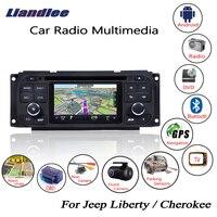 Liandlee для Jeep Liberty/Cherokee 2002 ~ 2007 Android автомобильный Радио CD DVD плеер gps Navi навигации карты камера OBD ТВ экран
