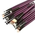 21 Шт. Make Up Brush Set Профессиональный макияж Туалетные Комплект Шерсть Кисти для Макияжа Горячая